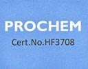 Prochem certified - HF3708 - Carpet and fabric cleaning products.