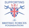 Supporting the British Forces Foundation.