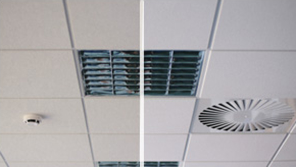Office cleaning services - Ceiling cleaning